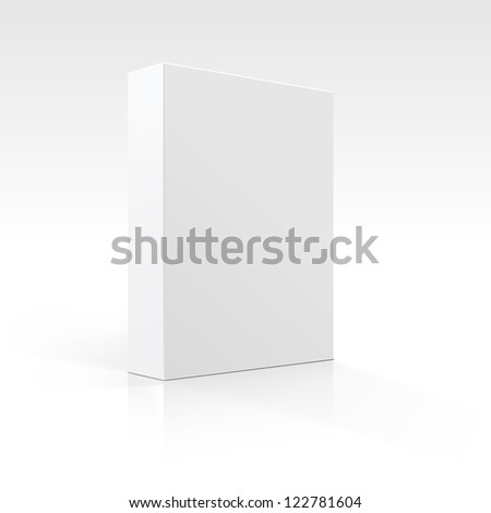 Vector Blank Box - stock vector
