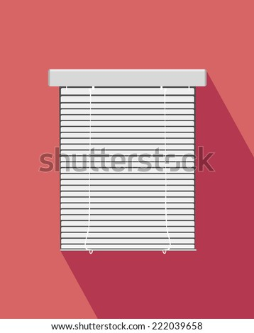 vector blinds  - stock vector