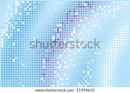 vector blue glamour glitter background - stock vector
