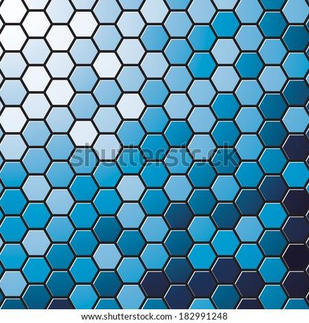 stock-vector-vector-blue-hexagons-background-geometric-pattern-hexagon    Hexagonal Pattern Vector