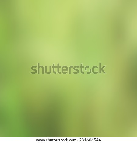 Vector blurred landscape, ecology banner, nature background. Good as web and mobile interface template. Eco design. - stock vector