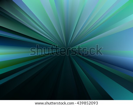 Vector blurred rays. Abstract background with mesh gradient. Abstract composition, vector EPS10