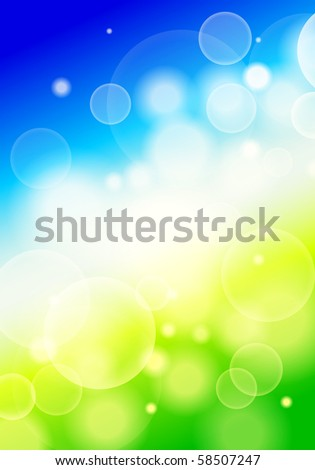 vector blurry background - stock vector