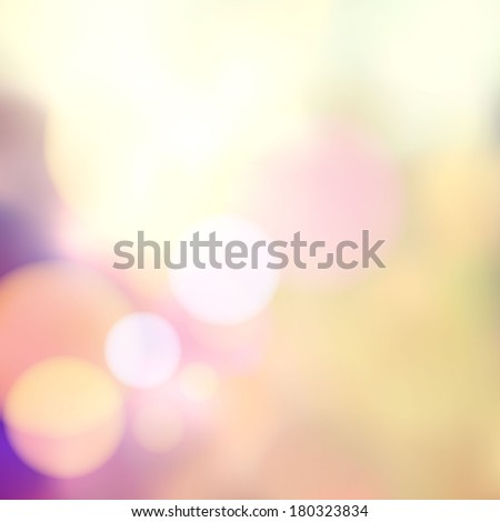 Vector blurry soft background with photographic bokeh effect. Smooth unfocused film effect. Pale romantic pink and purple tones. Retro light leaks.   - stock vector