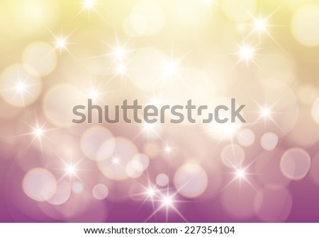 Vector bokeh light soft colors background. - stock vector