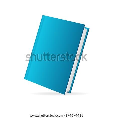 Vector book cover set perspective  - stock vector