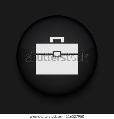 Vector Briefcase icon. Eps10. Easy to edit - stock vector