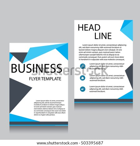 Front page stock images royalty free images vectors for Brochure website templates