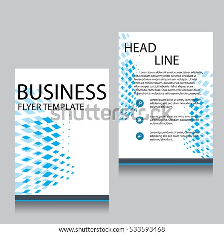 One Page Brochure Template Feodtifet