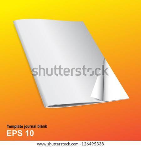 Vector brochure or booklet - stock vector