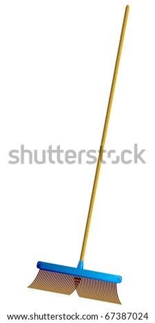 Vector Brush Floor - stock vector