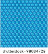 vector bubble wrap - stock vector