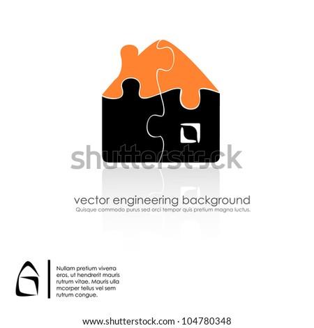 vector buildings design - stock vector