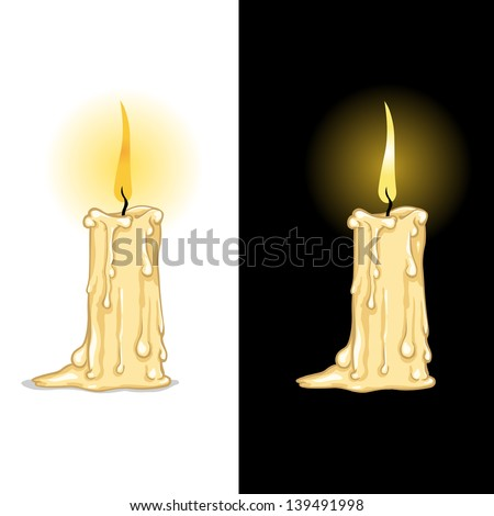 Cartoon candles Stock Photos, Images, & Pictures ...