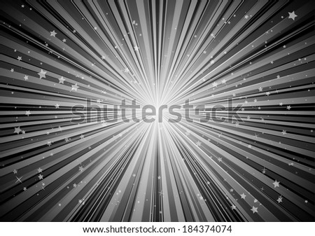 Vector burst abstract background illustration - Vector blast  background illustration - stock vector