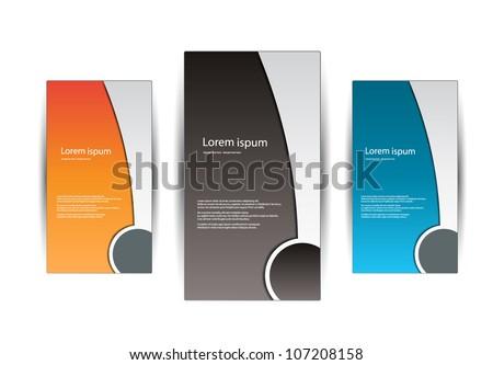 vector business design - stock vector