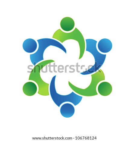 Vector Business meeting 6 - stock vector
