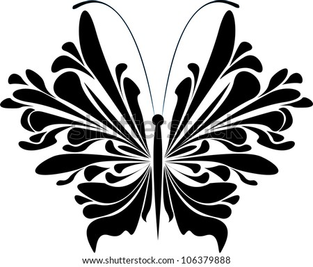 Vector butterflies - stock vector