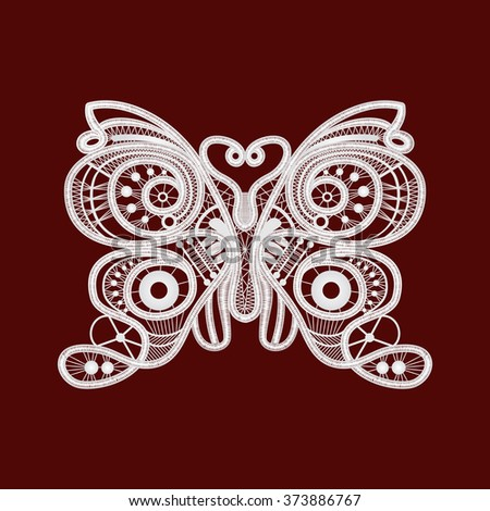 vector butterfly, white butterfly, butterfly lace