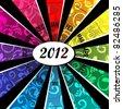 VECTOR - Calendar Design 2012 - stock vector