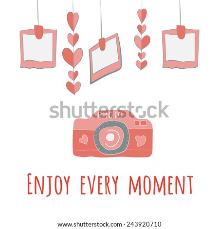 every moment red letter enjoy every moment stock images royalty free images 21539