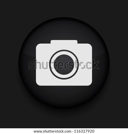 Vector camera icon. Eps10. Easy to edit - stock vector
