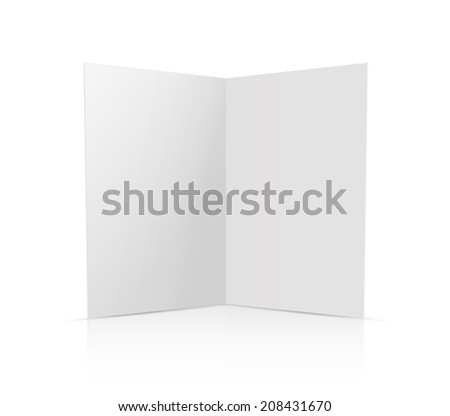 Vector card template.