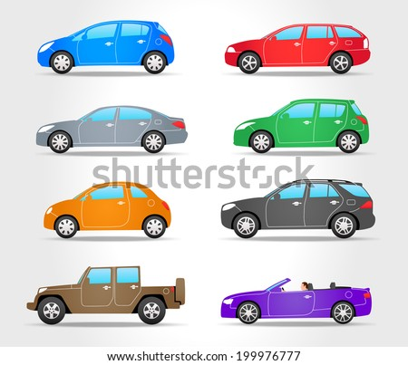 side view of car stock images royalty free images vectors shutterstock. Black Bedroom Furniture Sets. Home Design Ideas