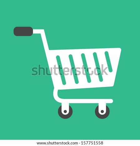 Vector Cart Icon - stock vector