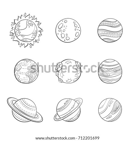 neptune with rings coloring pages-#17