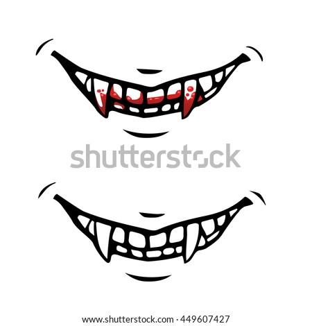 Vampire Teeth Clipart