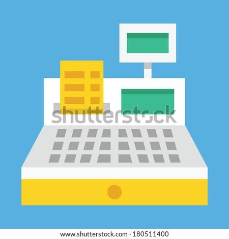 Vector Cash Register Icon