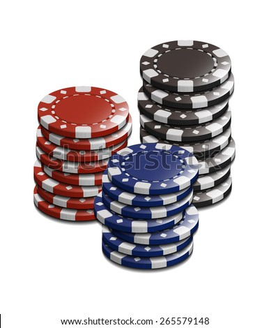 Vector Casino Stake Chip Set