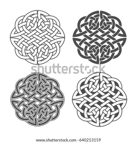 vector celtic knot ethnic ornament geometric stock vector hd rh shutterstock com