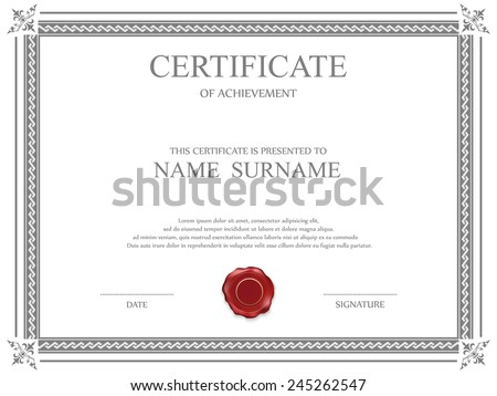 Certificate Border Images RoyaltyFree Images Vectors – Shareholder Certificate Template