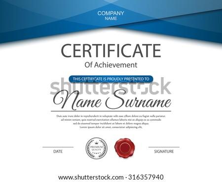 Certificate Template Images RoyaltyFree Images Vectors – Certificate Designs Templates