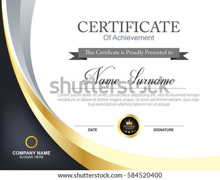 Certificate template certificate template with a pirate theme vector certificate template stock vector 582139258 shutterstock yadclub Images