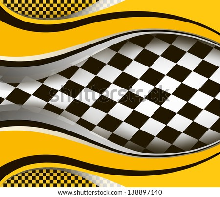 vector checkered  background. EPS10 illustration - stock vector