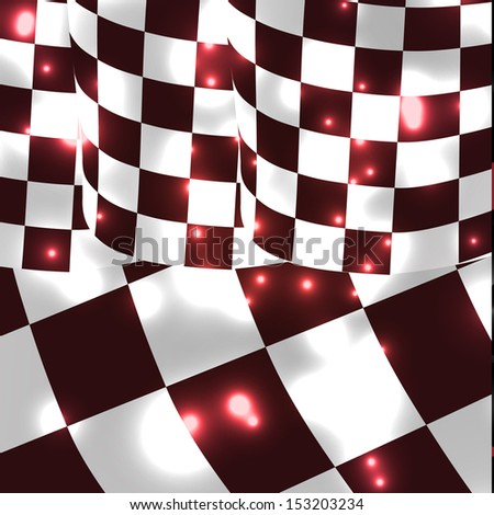 vector checkered racing flag background. EPS10