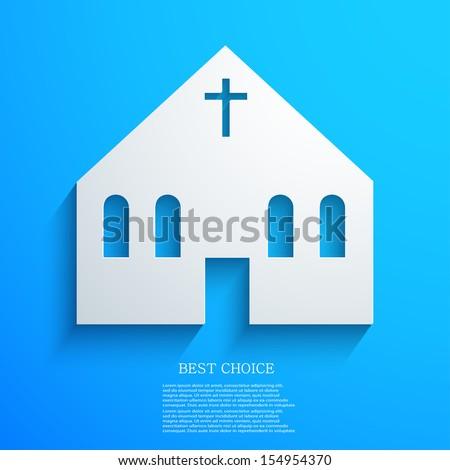 vector Christian background. Eps10 - stock vector