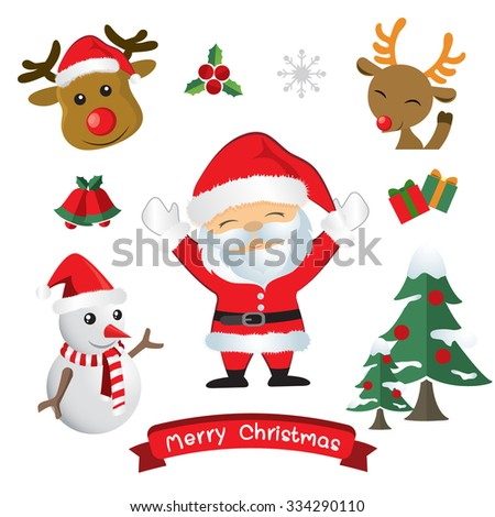 vector christmas decorate - stock vector