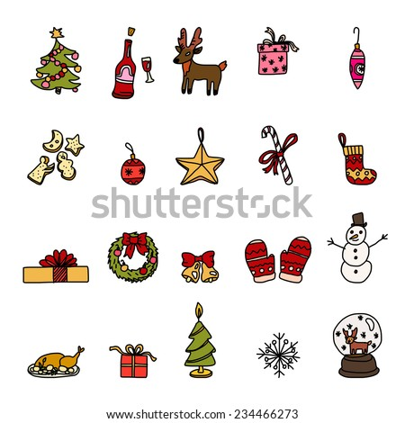Stock images royalty free images vectors shutterstock for Christmas decoration things