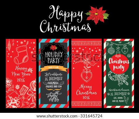 Vector christmas party invitation toys holiday stock vector vector christmas party invitation with toys holiday background and design banner vector template with stopboris Images