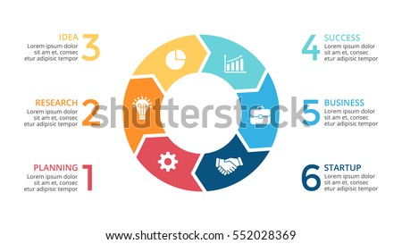 Vector circle arrows infographic cycle diagram stock vector vector circle arrows infographic cycle diagram graph presentation chart business concept with ccuart Images