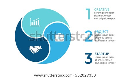 Vector circle arrows infographic cycle diagram em vetor stock vector circle arrows infographic cycle diagram graph presentation chart business concept with ccuart Images