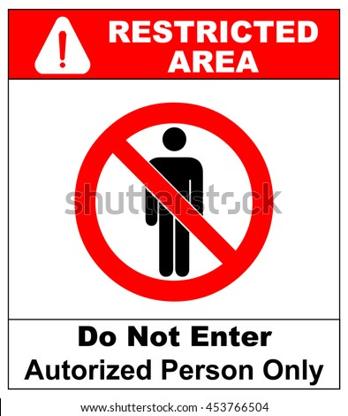 Restricted Area Stock Images, Royalty-Free Images ...