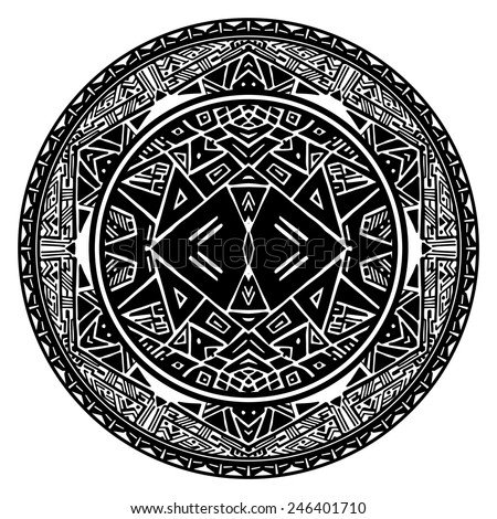Aztec Sun Stock Images, Royalty-Free Images & Vectors | Shutterstock