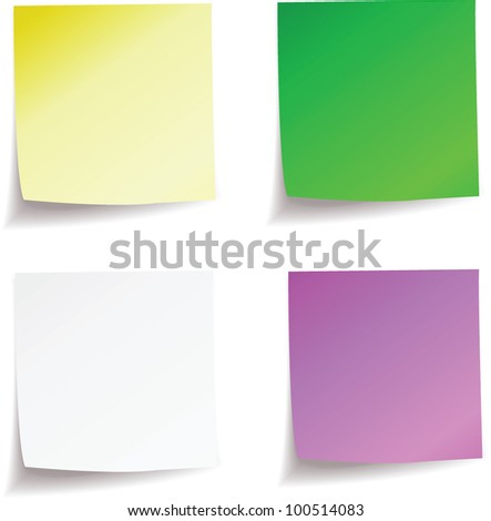 vector clear sticky. stock image for you design