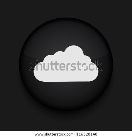 Vector cloud icon. Eps10. Easy to edit - stock vector