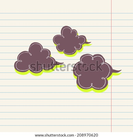 cloud template with lines - stock images royalty free images vectors shutterstock